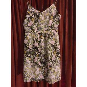 NWT Madewell Spaghetti Strap Floral Dress